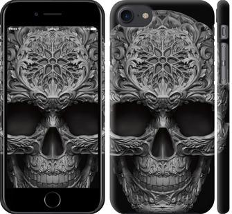 Чехол на iPhone 8 skull-ornament