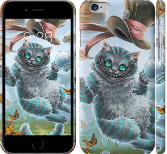 Чехол на iPhone 6 Чеширский кот 2