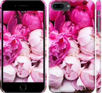 Чехол на iPhone 7 Plus Розовые пионы