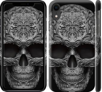 Чехол на iPhone XR skull-ornament