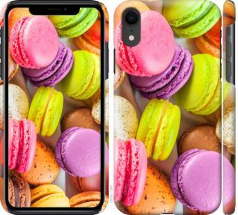 Чехол на iPhone XR Макаруны