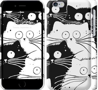 Чехол на iPhone 6 Коты v2