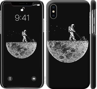 Чехол на iPhone XS Moon in dark