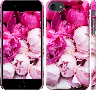 Чехол на iPhone 8 Розовые пионы