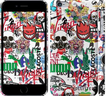 Чехол на iPhone 6 Plus Many different logos