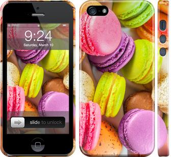 Чехол на iPhone SE Макаруны