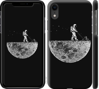 Чехол на iPhone XR Moon in dark
