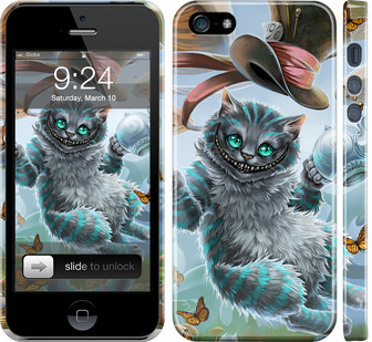 Чехол на iPhone SE Чеширский кот 2
