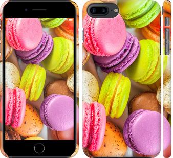 Чехол на iPhone 8 Plus Макаруны