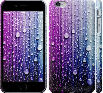 Чехол на iPhone 6 Plus Капли воды
