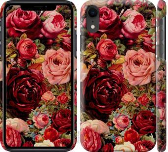 Чехол на iPhone XR Цветущие розы