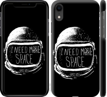Чехол на iPhone XR I need more space