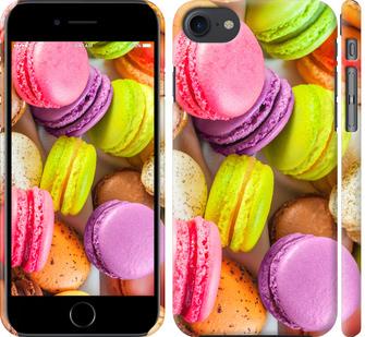 Чехол на iPhone 8 Макаруны
