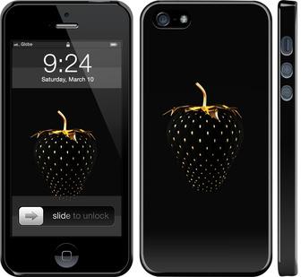 Чехол на iPhone 5s Черная клубника