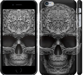 Чехол на iPhone 6s Plus skull-ornament