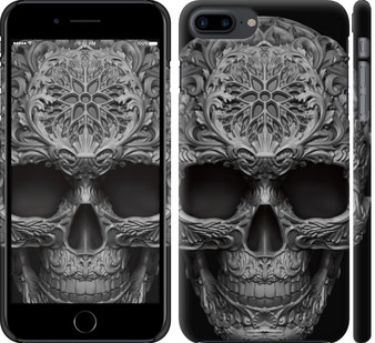 Чехол на iPhone 7 Plus skull-ornament