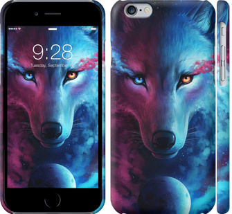 Чехол на iPhone 6s Арт-волк