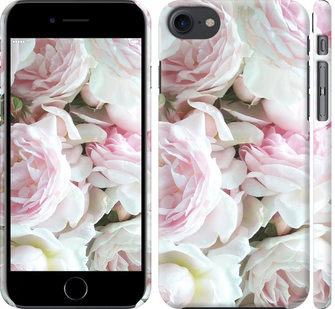 Чехол на iPhone 8 Пионы v2