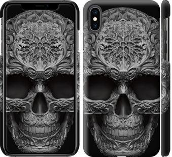 Чехол на iPhone XS Max skull-ornament