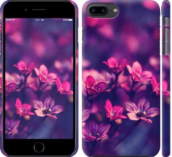 Чехол на iPhone 8 Plus Пурпурные цветы