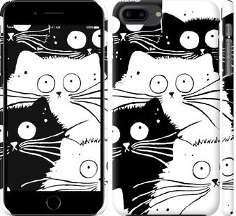 Чехол на iPhone 8 Plus Коты v2