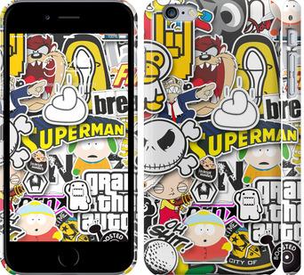 Чехол на iPhone 6 Plus Popular logos