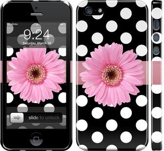 Чехол на iPhone SE Горошек 2