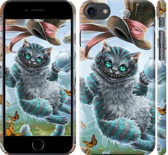 Чехол на iPhone 7 Чеширский кот 2