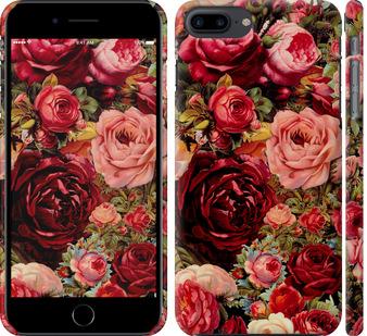 Чехол на iPhone 8 Plus Цветущие розы