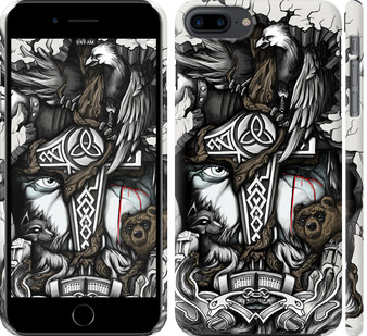 Чехол на iPhone 7 Plus Тату Викинг