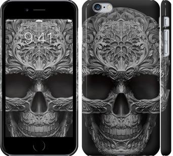 Чехол на iPhone 6 Plus skull-ornament
