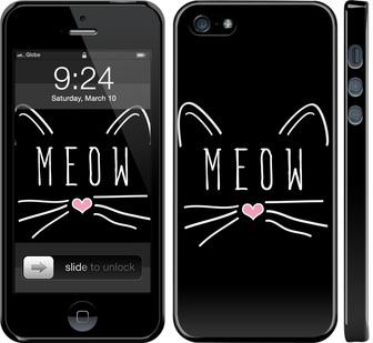 Чехол на iPhone 5s Kitty