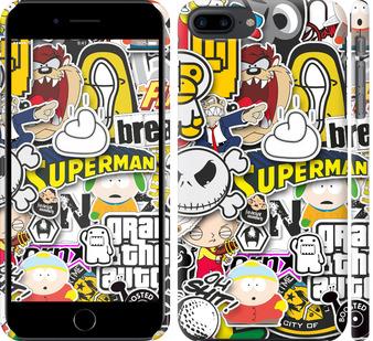 Чехол на iPhone 7 Plus Popular logos