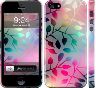Чехол на iPhone 5 Листья