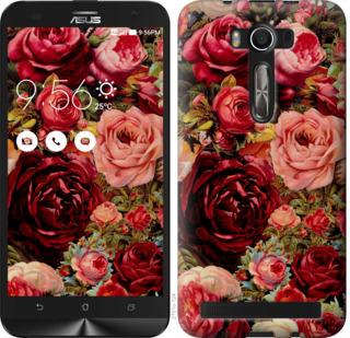 Чехол на Asus ZenFone 2 Laser 2 ZE550KL Цветущие розы