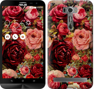 Чехол на Asus ZenFone 2 Laser ZE601KL Цветущие розы