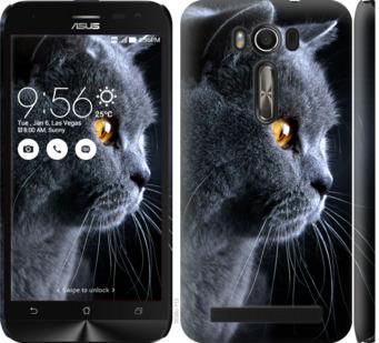 Чехол на Asus ZenFone 2 Laser ZE500KL Красивый кот