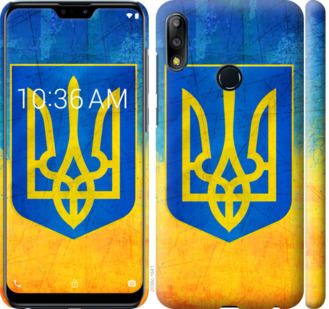 Чехол на Asus Zenfone Max Pro M2 ZB631KL Герб Украины