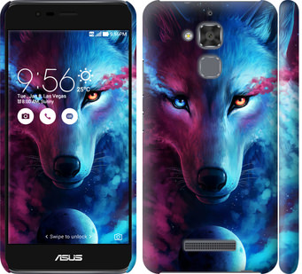 Чехол на Asus Zenfone 3 Max ZC520TL Арт-волк