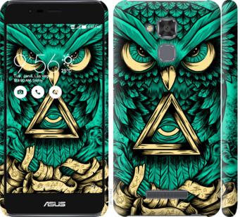 Чехол на Asus Zenfone 3 Max ZC520TL Сова Арт-тату