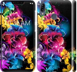 Чехол на Asus Zenfone Max M2 ZB633KL Абстрактные цветы
