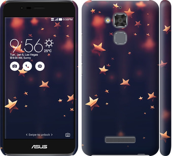 Чехол на Asus Zenfone 3 Max ZC520TL Падающие звезды