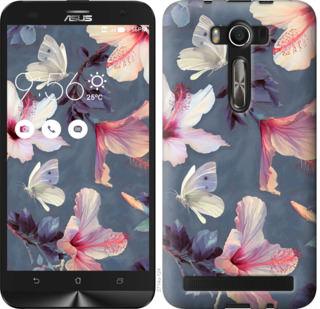 Чехол на Asus ZenFone 2 Laser 2 ZE550KL Нарисованные цветы
