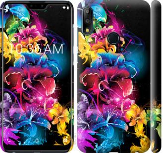 Чехол на Asus Zenfone Max Pro M2 ZB631KL Абстрактные цветы