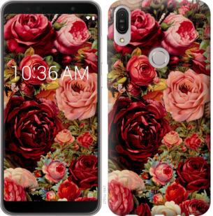 Чехол на Asus ZenFone Max Pro M1 ZB602KL Цветущие розы