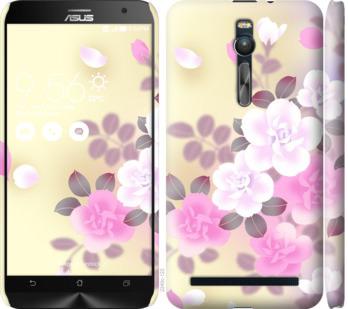 Чехол на Asus Zenfone 2 ZE551ML Японские цветы