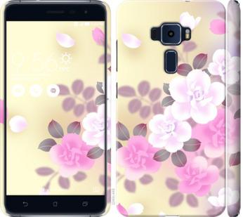 Чехол на Asus Zenfone 3 ZE520KL Японские цветы
