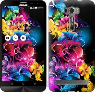 Чехол на Asus ZenFone 2 Laser ZE601KL Абстрактные цветы
