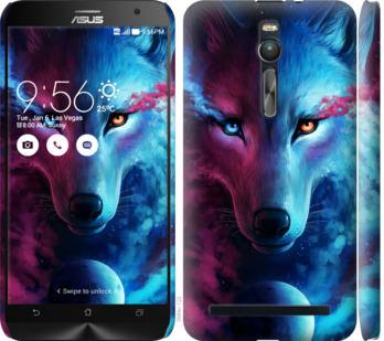 Чехол на Asus Zenfone 2 ZE551ML Арт-волк
