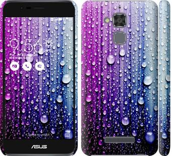 Чехол на Asus Zenfone 3 Max ZC520TL Капли воды